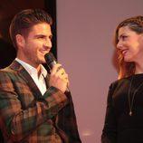 Maxi Iglesias y Manuela Velasco en el preestreno de 'Galerías Velvet' en Noia