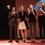 Maxi Iglesias, Manuela Velasco, Manuela Vellés y Marta Hazas en Noia