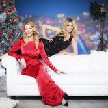 Paula Vázquez y Anna Simon, presentadoras de las Campanadas 2013 de Antena 3