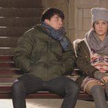 Jeco y María José en el último capítulo de la primera temporada de 'Vive cantando'