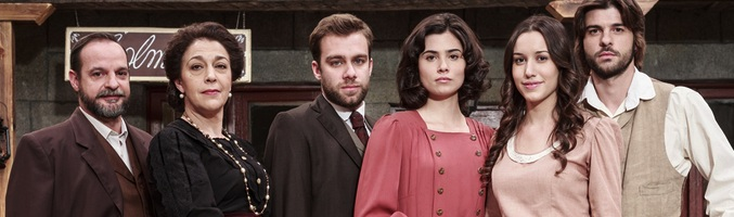 Parte del elenco de actores de 'El secreto de Puente Viejo'