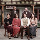 Algunos de los protagonistas de 'El secreto de Puente Viejo'