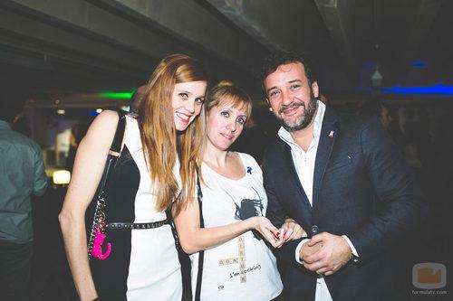 María Castro y José Luis García Pérez en la fiesta del 5º aniversario del Grupo Secuoya