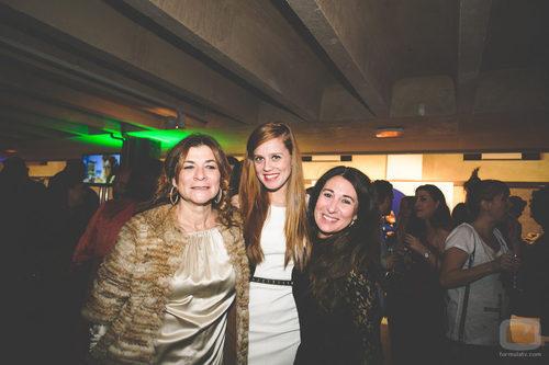 Sonia Martínez y María Castro en la fiesta del 5º aniversario del Grupo Secuoya