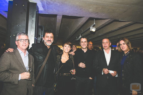 Enrique Darriba en la fiesta del 5º aniversario del Grupo Secuoya