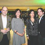 Luis Miguel Calvo y Raúl Berdonés en la fiesta del 5º aniversario del Grupo Secuoya