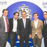 Ignacio Moreno en la fiesta del 5º aniversario del Grupo Secuoya