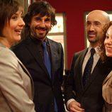 Nathalie Poza, Santi Millán, Javier Cámara y Silvia Marty