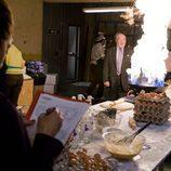 Pepe Ruiz se sorprende con el fuego en la serie 'La familia mata'