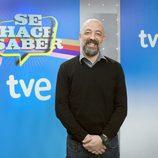 Goyo Jiménez, presentador de 'Se hace saber'