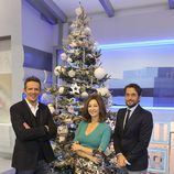 Joaquín Prat, Ana Rosa Quintana y Máxim Huerta celebran la Navidad 2013