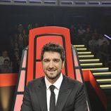 Antonio Orozco en la final de la segunda temporada de 'La voz'