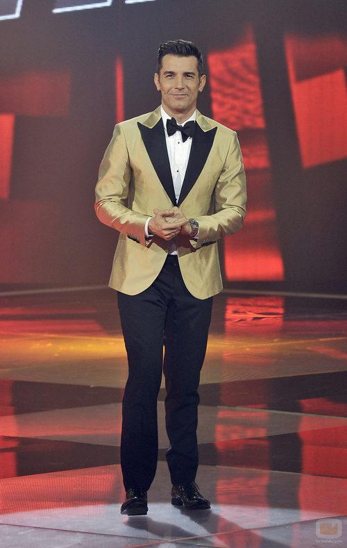 Jesús Vázquez en la final de la segunda temporada de 'La voz'
