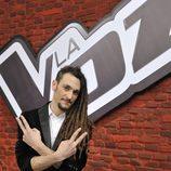 Jaume Mas en la final de la segunda edición de 'La voz'