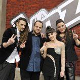 Los finalistas de la segunda temporada de 'La voz'