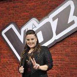 Estela Amaya, finalista de 'La voz 2'