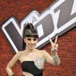 Dina Arriaza, finalista de la segunda edición de 'La voz'