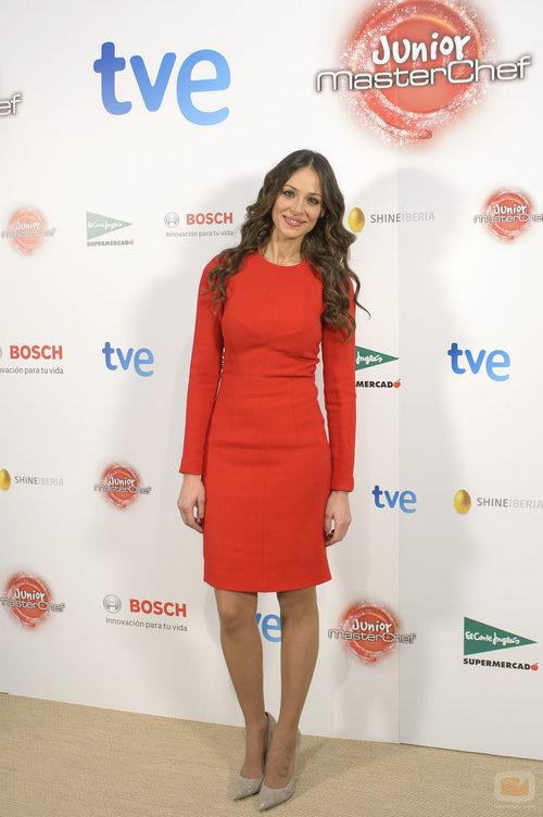 Eva González, presentadora de 'MasterChef Junior'