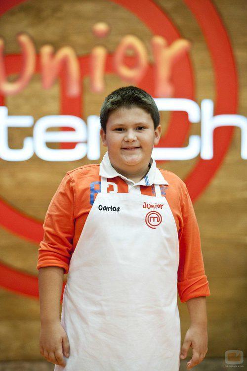 Carlos, concursante de 'MasterChef Junior'