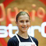 Cristina, concursante de 'MasterChef Junior'