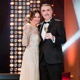 Eva González y Juan y Medio presentan '¡Feliz 2014!'