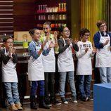 Los concursantes de 'MasterChef Junior' felices tras conocer que viajarán a Disneyland París