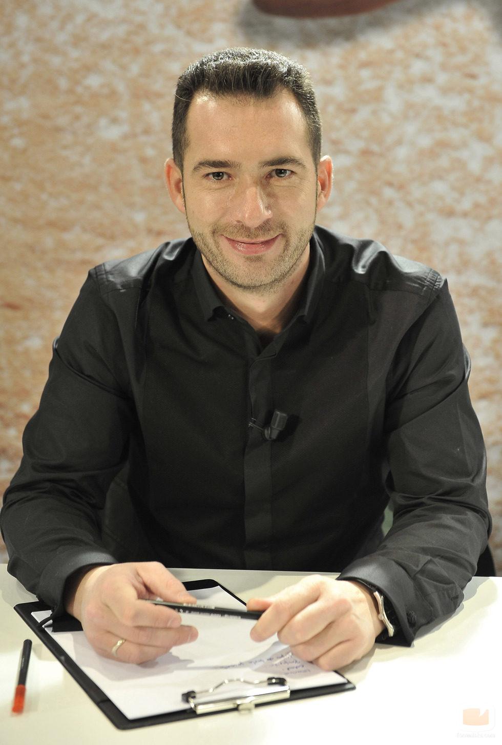 David Pallàs, uno de los miembros del jurado de 'Deja sitio para el postre'