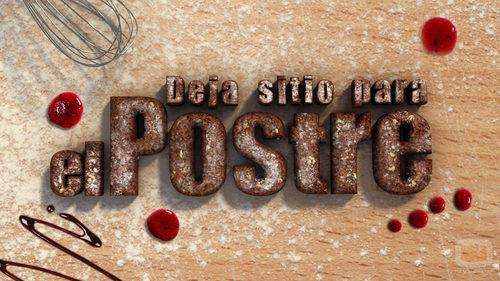 Logo de 'Deja sitio para el postre'