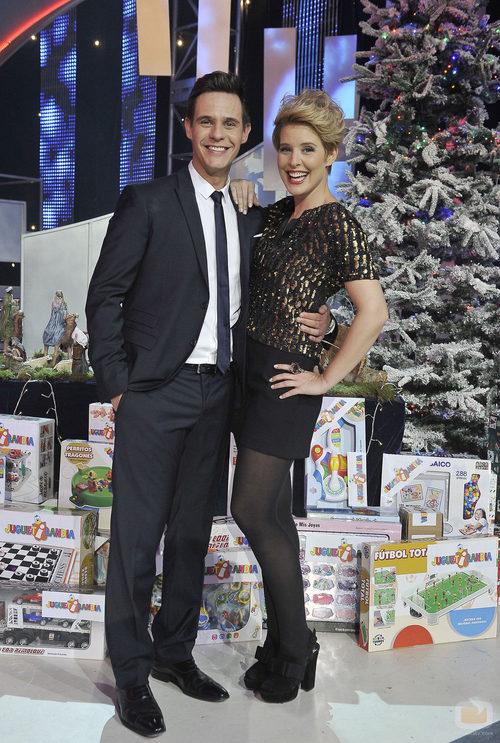 Christian Gálvez y Tania Llasera en el especial 'Ya vienen los Reyes'