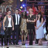 Los presentadores junto a los protagonistas de 'Dreamland' en 'Ya vienen los Reyes'