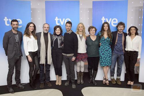 Actores de la tercera temporada de 'Los misterios de Laura'