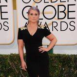 Kelly Osbourne en la alfombra roja de los Globos de Oro 2014