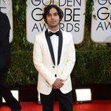 Kunal Nayyar en los Globos de Oro 2014