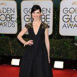 Julianna Margulies en la alfombra roja de los Globos de Oro 2014
