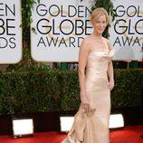 Anna Gunn en los Globos de Oro 2014