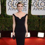 Emma Roberts en la alfombra roja de los Globos de Oro 2014