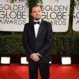 Leonardo DiCaprio en los Globos de Oro 2014
