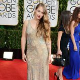 Jemima Kirke en los Globos de Oro 2014