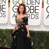 Jacqueline Bisset en los Globos de Oro 2014