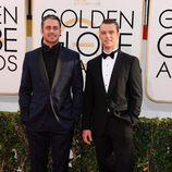 Taylor Kinney y Jesse Spencer en los Globos de Oro 2014