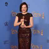 Elisabeth Moss, ganadora del Globo de Oro 2014 a la Mejor Actriz de Miniserie