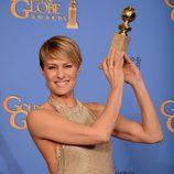 Robin Wright, ganadora del Globo de Oro 2014 a la Mejor Actriz de Drama