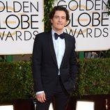 Orlando Bloom en la alfombra roja de los Globos de Oro 2014