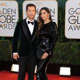 Matthew McConaughey en los Globos de Oro 2014