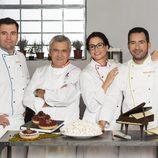 Los mentores con Paco Torreblanca en 'Deja sitio para el postre'