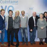 La familia Alcántara en la presentación de la decimoquinta temporada de 'Cuéntame cómo pasó'