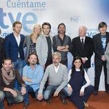 Los actores de 'Cuéntame cómo pasó' junto a Los Secretos y Julio Ruiz