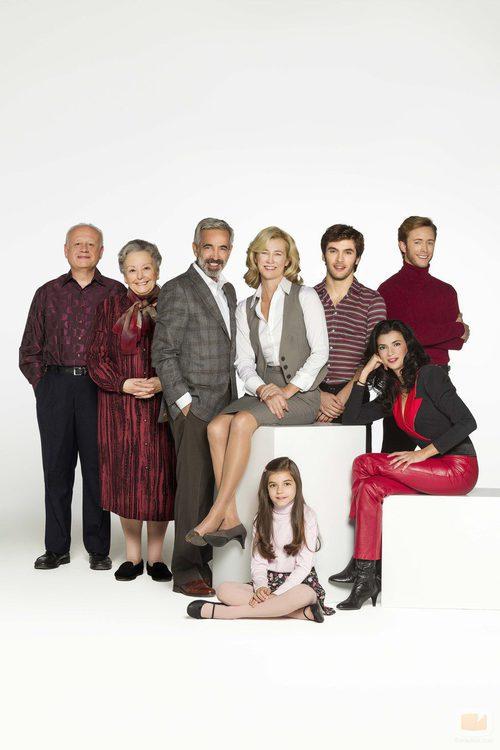 La familia Alcántara en la decimoquinta temporada de 'Cuéntame cómo pasó'