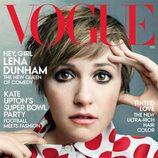 Lena Dunham, portada de la revista Vogue