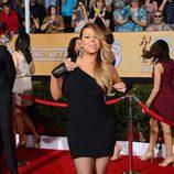 Mariah Carey en la alfombra roja de los SAG 2014